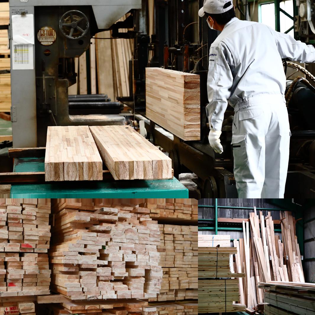 木材の仕入れ・製材・加工