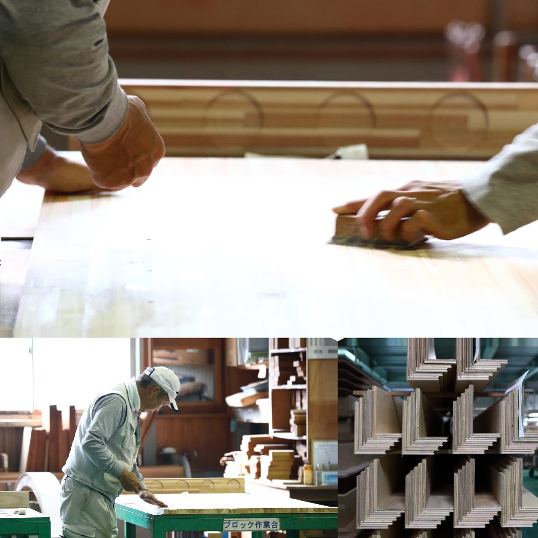 木材加工のカスタムオーダー